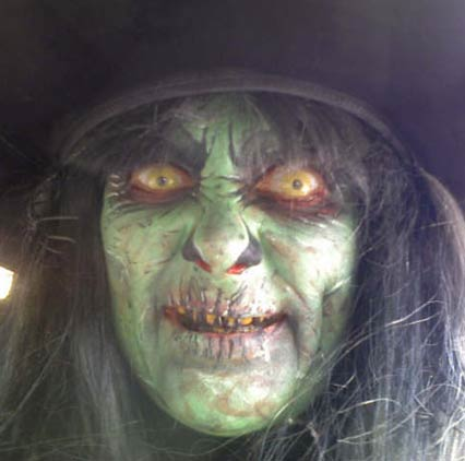 Scary witch makeup | fun | Pinterest